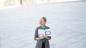 Bozeman business and sales coach Hannah Bratterud showing her Multiplier Sale workbook